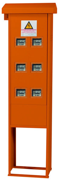 METER KIOSKS 3CR12 6M 3-PH ORANGE