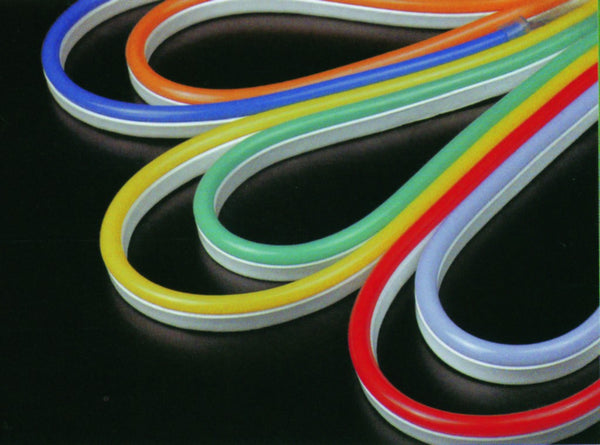 LED NEON FLEX 50M WHITE 12x24MM(H) COLOR JACKETED