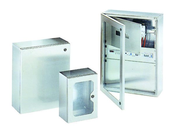 304 STAINLESS ENCLOSURE PLAIN DOOR IP66 650x500x250