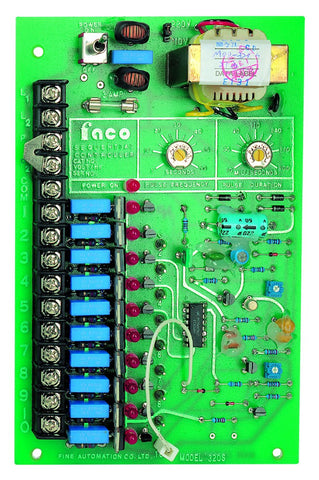 10 CHANNEL VALVE TIMER CARD ONLY 110/220VAC
