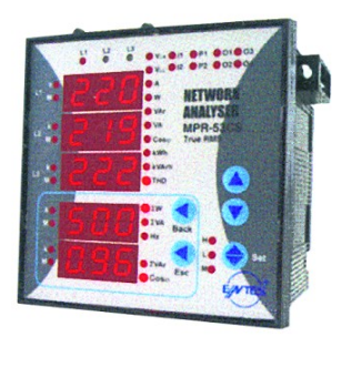 3-PHASE NETWORK ANALYSER C/W COMMS & ALARM CONTACT 96x96 110
