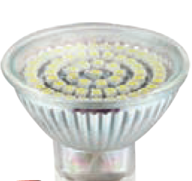 230VAC 48 LED WARM WHITE LED LAMP MR16