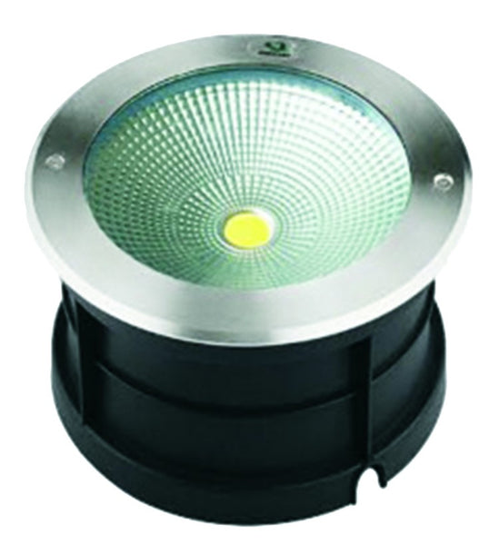 230VAC 30W 110° WARM WHITE INGROUND LED SS LIGHT ROUND
