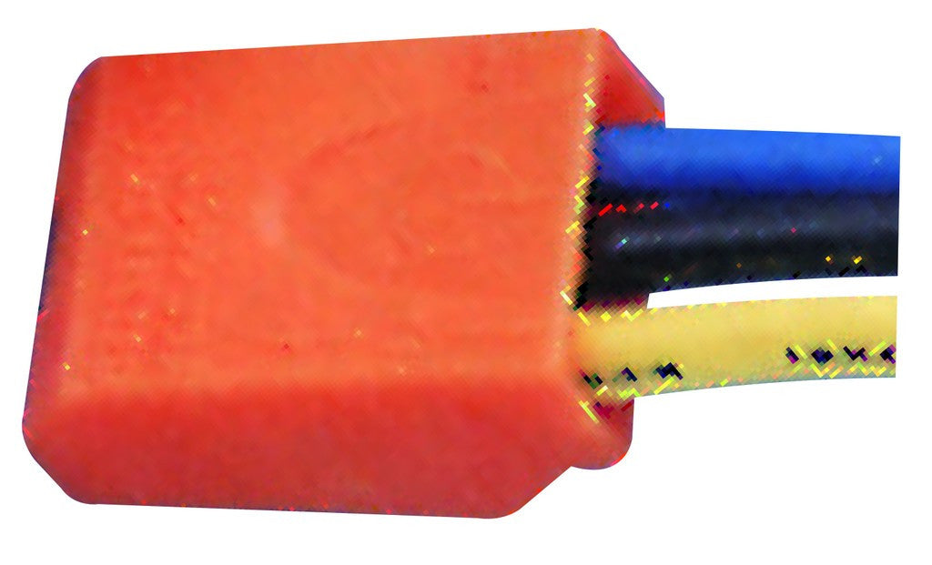 PUSH-IN 3 WAY WIRE CONNECTORS ORANGE /5