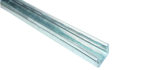 OPEN CHANNEL 41X21MM 3M LENGTH GALVANISED