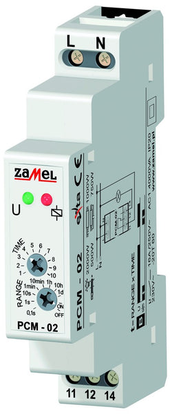 DELAY-OFF TIMER 16A 1C/O 12-240VAC IP20