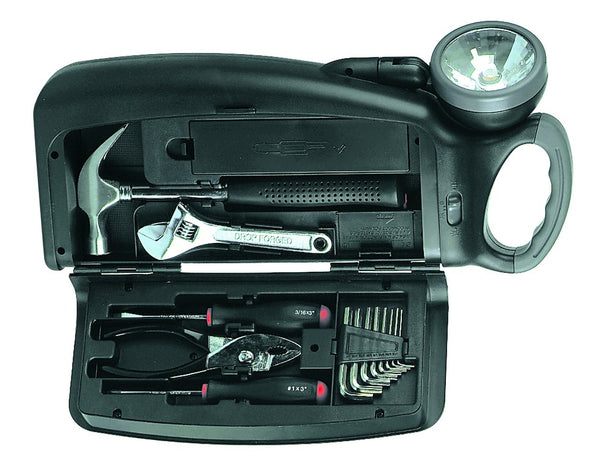 TOOL KIT C/W TORCH EXCL. BATTERIES