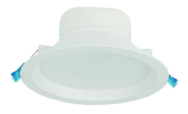 100-230VAC,20W,LED DOWNLIGHT,COOL WHITE,ALU/GLASS,Ø190x75