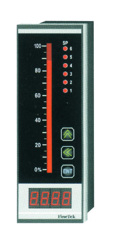 BARGRAPH PANEL METER C/W 4RELAYS AND 4-20mA OUTPUT 230VAC