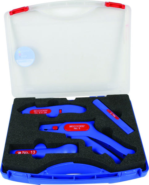 PROFESSIONAL CABLE AND WIRE STRIPPING KIT