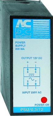 100mA POWER SUPPLY 110VAC:24VDC