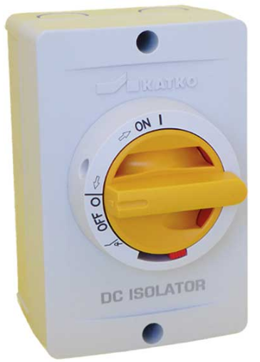 25A, 1200V, ENCLOSED  4 POLE DC ISOLATOR