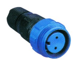 8POLE. 5A FEMALE CABLE CONNECTOR 125V