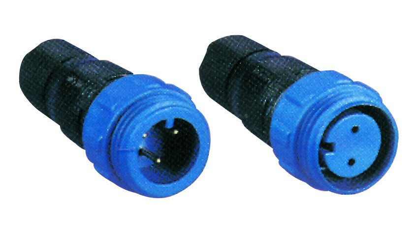 3POLE. 8A  MALE CABLE CONNECTOR 250V