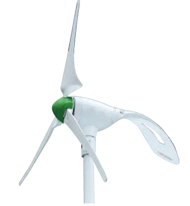 400W 24VDC HYBRID WIND AND SOLAR TURBINE