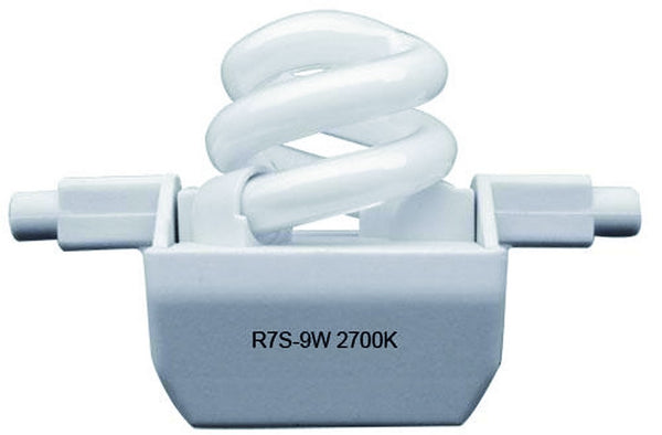SPARE 9W CFL COOL WHITE LAMP FOR FS69-W