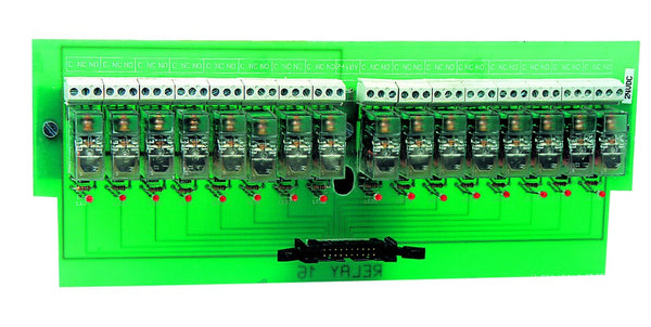 16-WAY RELAY BOARD 24VAC OPEN BASE