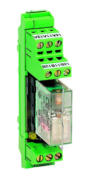 1-WAY 1 C/O 24VAC/DC PLUG-IN RELAY BOARD CLOSED BASE