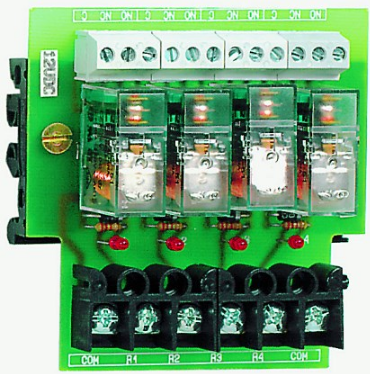 4-WAY 2C/O RELAY BOARD 110VDC