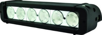 60W LED (6X10W)LIGHT BAR,SPOT,9-32VDC,IP67,280X115X123MM