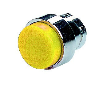 YELLOW EXTENDED PUSHBUTTON HEAD