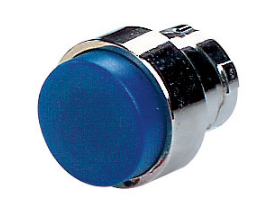 BLUE EXTENDED PUSHBUTTON HEAD