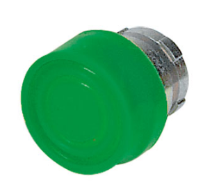 GREEN BOOTED PUSHBUTTON HEAD