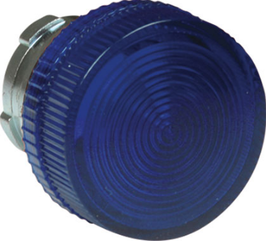 BLUE PILOT LIGHT HEAD
