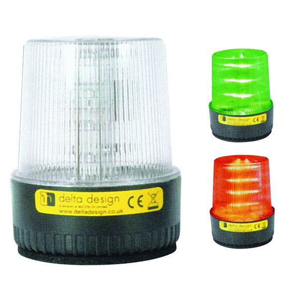 85/265VAC GREEN/RED LED BEACON LT2 SERIES IP67