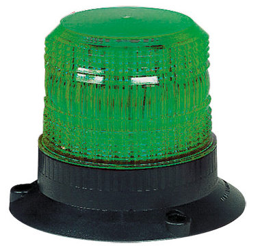 GREEN XENON BEACON 12/24VAC/DC 5W
