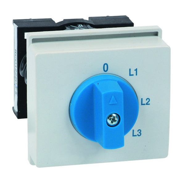 AMMETER SEL SWITCH - FOR 3 CTs DIN MOUNT