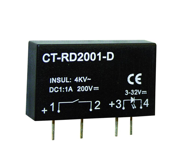 1ADC SSR IN 3-32VDC, OUT 3-350VDC
