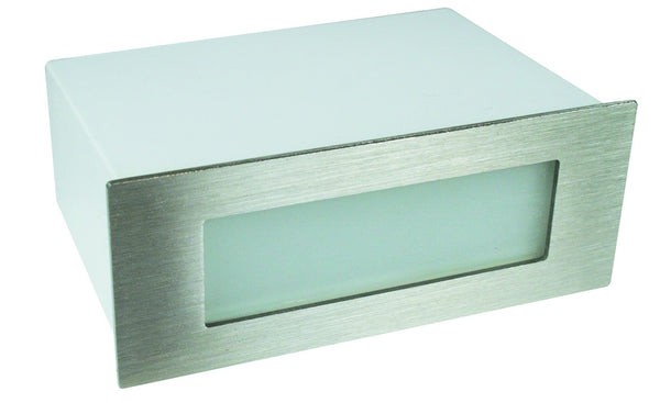 WARM WHITE LED STAINLESS LIGHT IP65 170x68x90