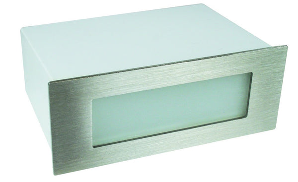 12VAC/DC GREEN LED STAINLESS LIGHT IP65 170x68x90