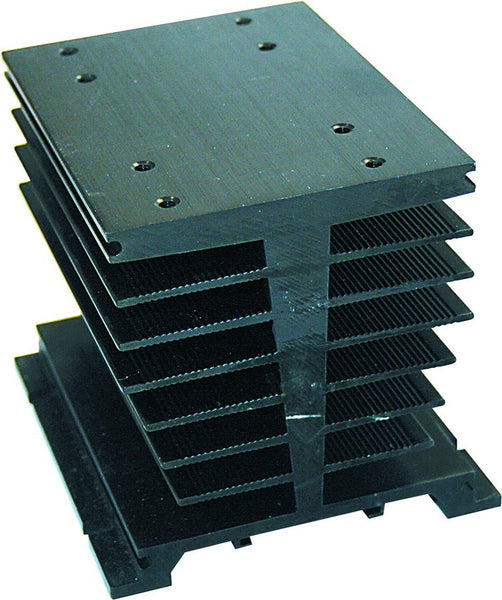 HEAT SINK FOR 3 PH SSR 150x88x35MM