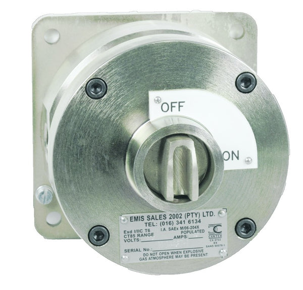 80 AMP 3 POLE ISOLATOR FLAMEPROOF