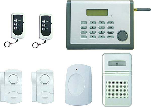 WIRELESS AUTO DIAL ALARM SYSTEM BUILT IN GSM MODULE