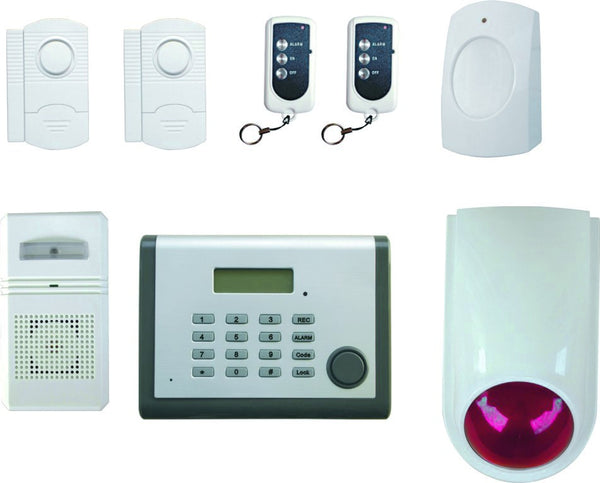 MAIN CONTROL UNIT FOR WIRELESS ALARM SYSTEM
