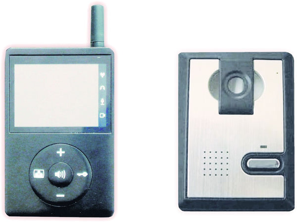 WIRELESS COLOUR VIDEO DOORPHONE SYSTEM