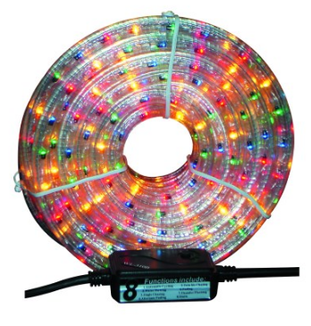 230V 10M FLEXILIGHT 3-WIRE CLEAR C/W CONTROLER