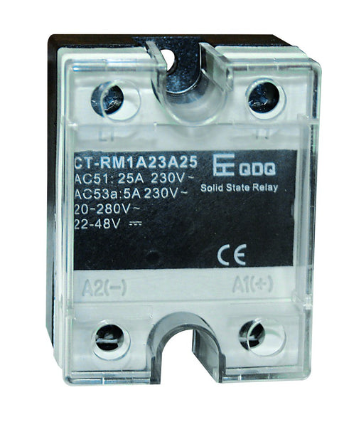 25A SSR IN 24-265VAC/190VDC, OUT 600VAC