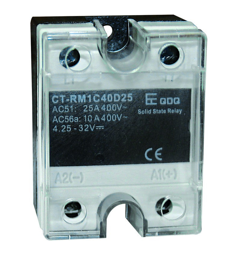 25A PEAK SSR IN 4-32VDC, OUT 90-280VAC