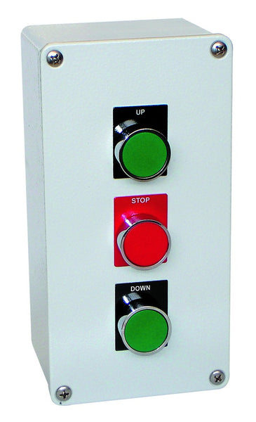PUSHBUTTON STN FWD/E-STOP/REV