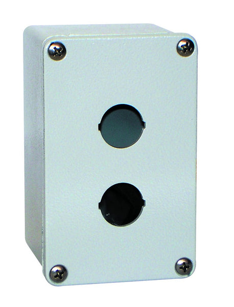2x30mm HOLE ALUMINIUM ENCLOSURE IP65