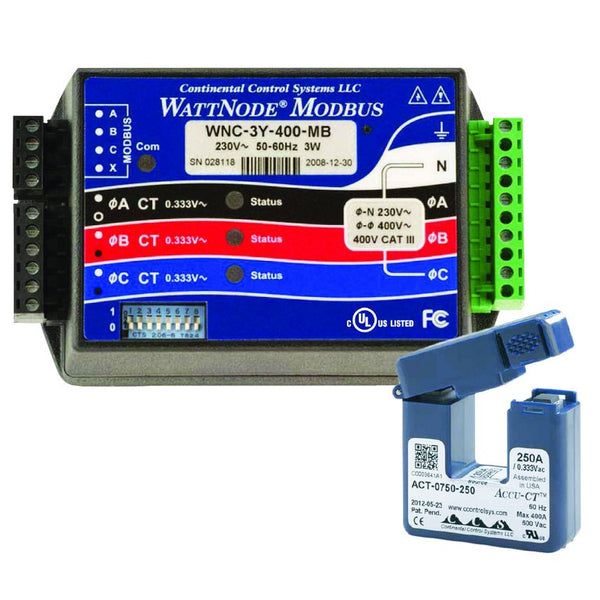 100A SPLIT CORE CT FOR WATT NODE METER