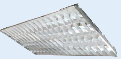 SPARE ALUM PARABOLIC DIFFUSER 1200x600mm FOR SF-8143P3 LIGHT