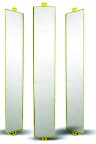 SAFETY LIGHT CURTAIN PROTECTIVE STAND,3 MIRRORS H=800MM