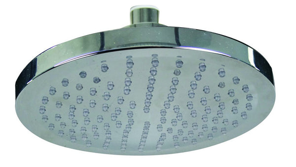 LED TEMPERATURE INDICATING SHOWER HEAD DIA 200MM