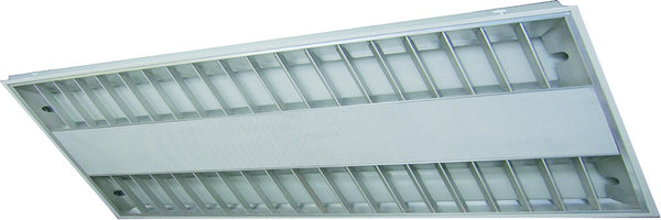 2x28W T5 RECESSED DOUBLE PARABOLIC LOUVERED 1200x600x60mm