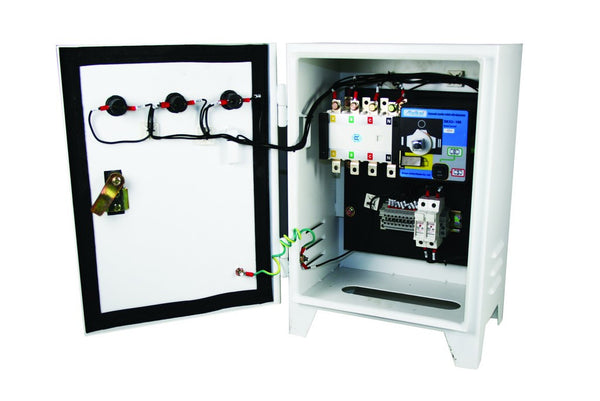 MOTORISED AUTOMATIC TRANSFER SWITCH 20A 4P